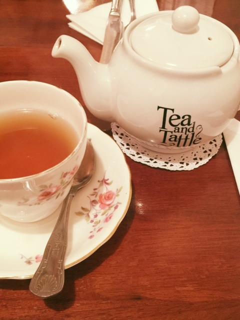 Hidden tearoom in the heart of London: Tea and Tattle