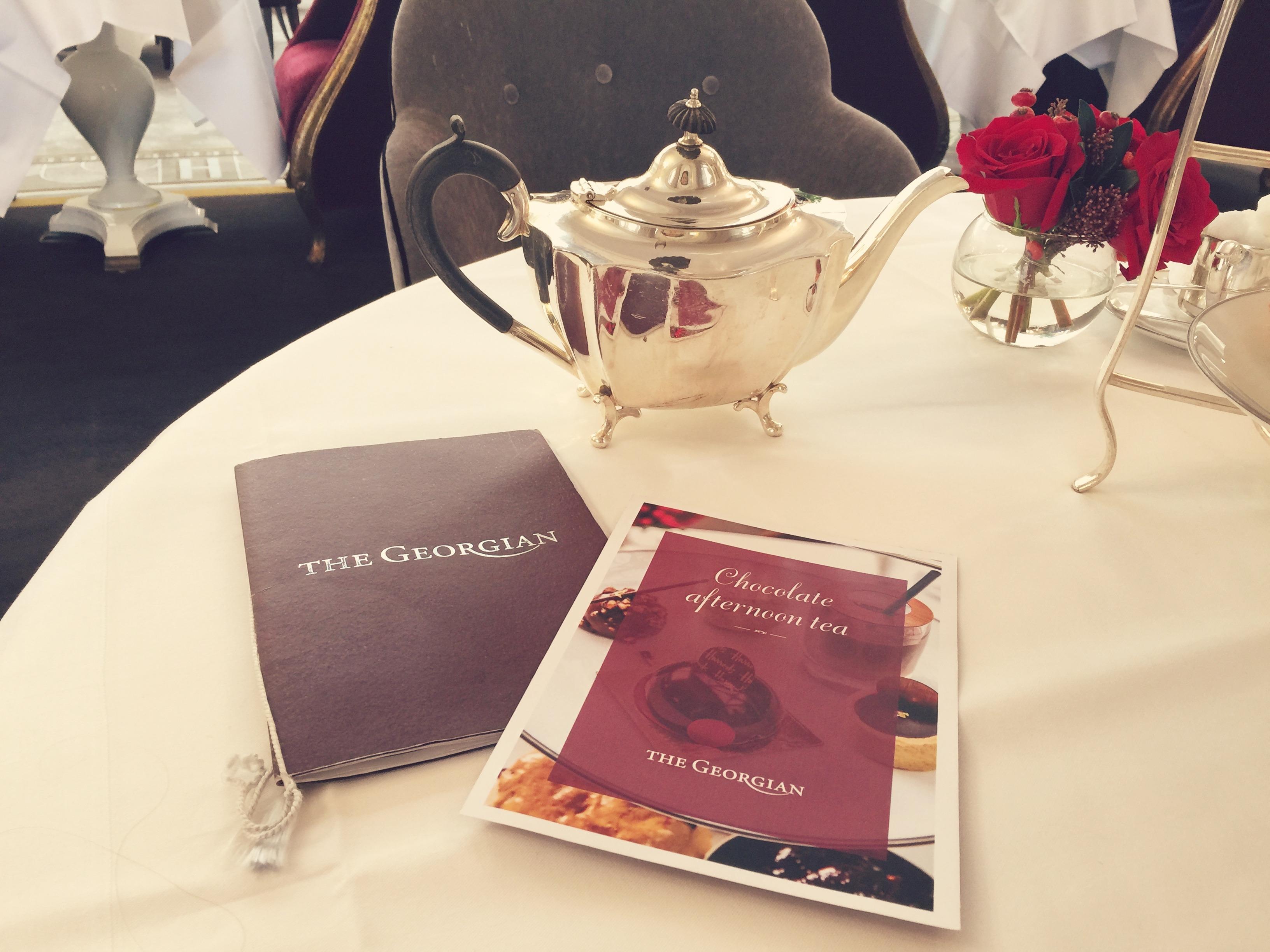 teapot-and-menu-chocolate-afternoon-tea