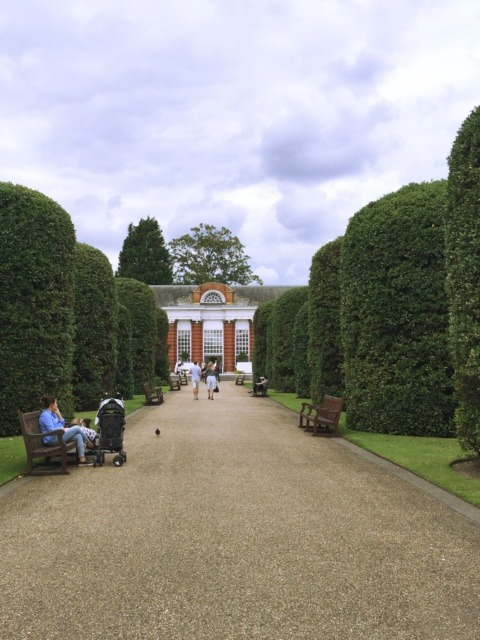 Afternoon tea surrounded by the gardens of Kensington Palace, the Orangery Restaurant
