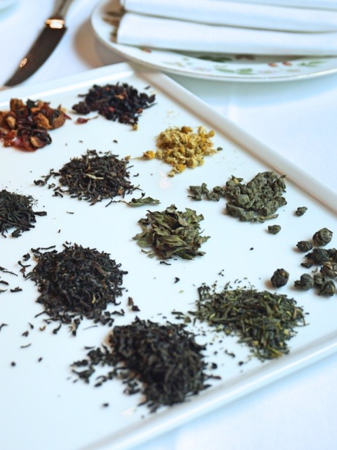 Quality Newby tea at The Montagu, Hyatt Regency London