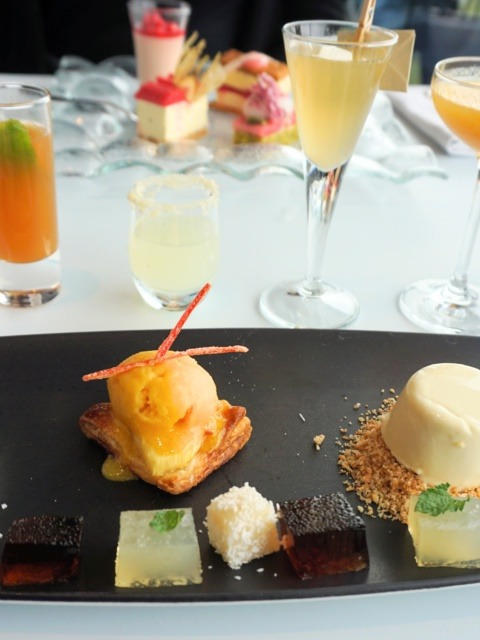 Not Afternoon Tea at the OXO Tower – cocktails, a view, and (almost) no tea