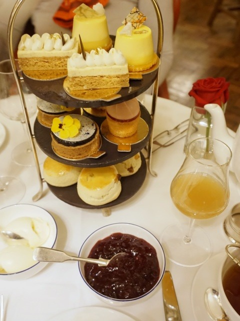 Diptyque-inspired afternoon tea at Hotel Café Royal