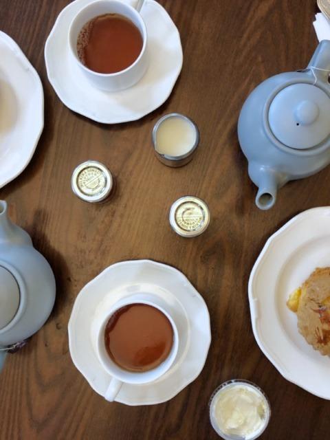 Cream tea in the beautiful Richmond Park, at Pembroke Lodge